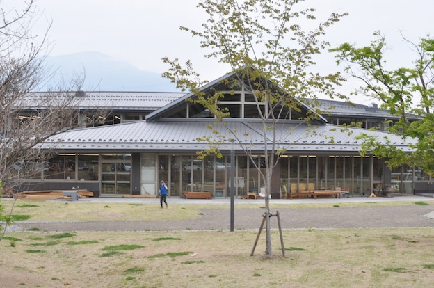 軽井沢風越学園の見学へ