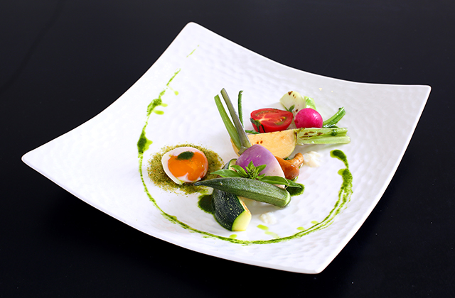 旧軽井沢 ホテル音羽ノ森 レストラン桂姫