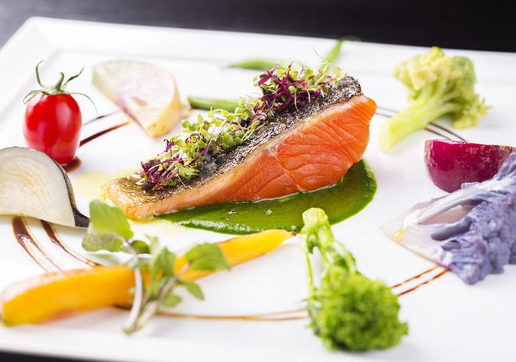 軽井沢ホテルロンギングハウス 野菜がおいしいレストラン