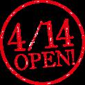 4/14 OPEN