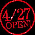 4/27 OPEN