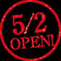 5/2 OPEN