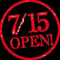 7/15 OPEN