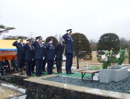 あさま山荘事件慰霊式典
