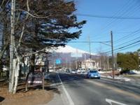 今朝の軽井沢